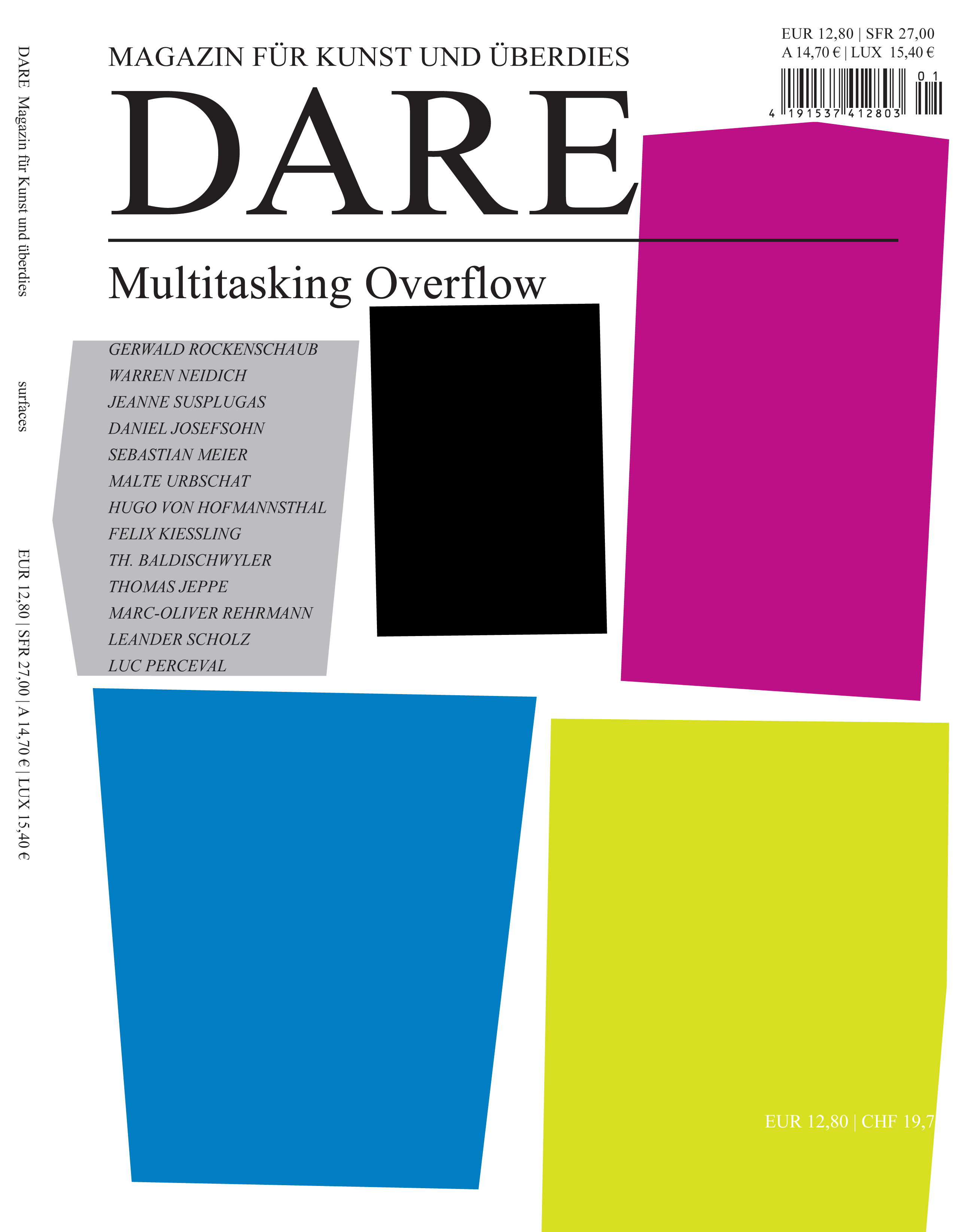 Dare Magazin - Multitasking Overflow
