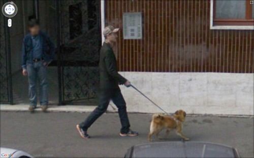 Carlo Zanni, Self portrait With Dog, 2008.