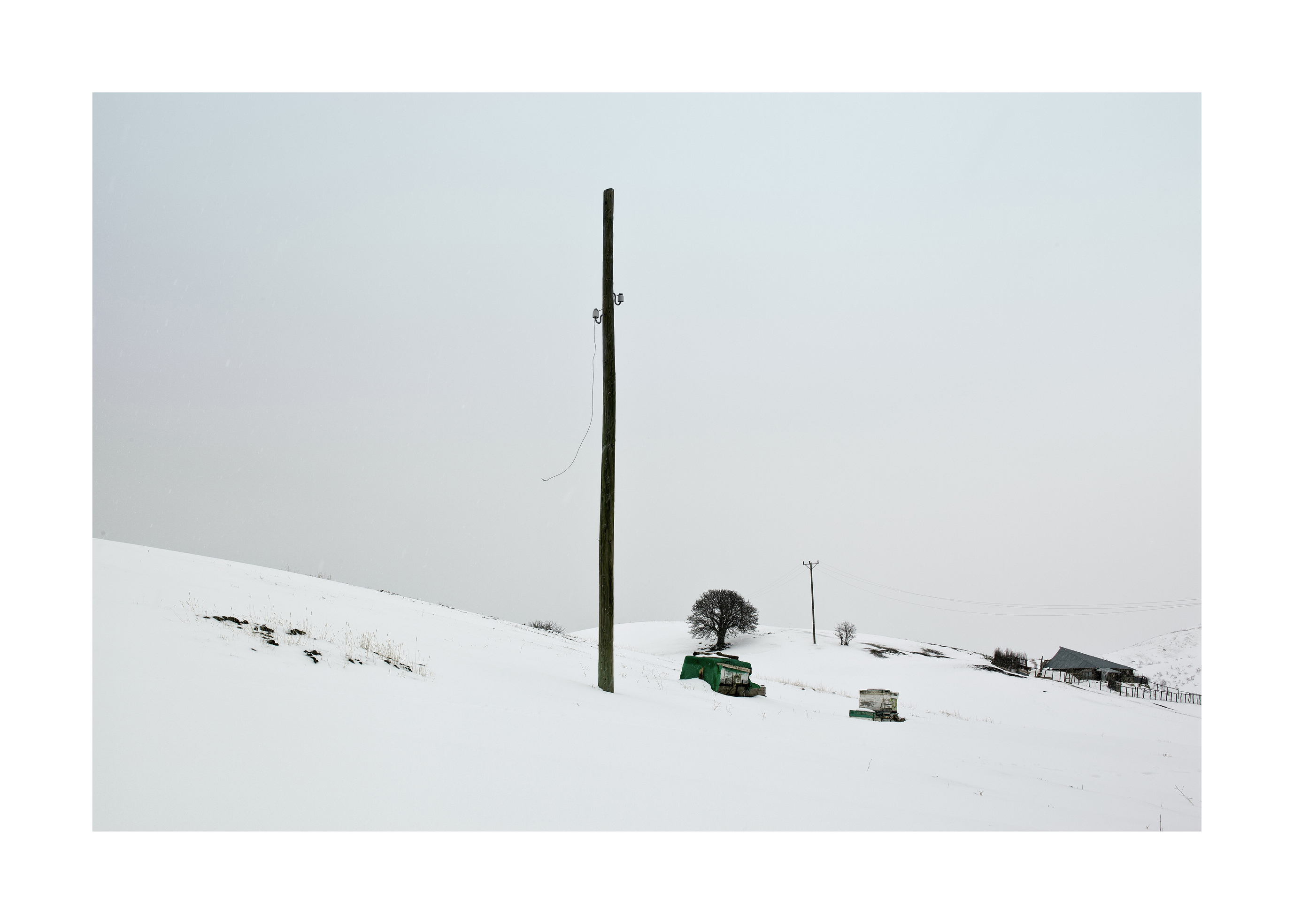 POLE THAT IS TO SAY SCULPTURE-1, from the series Open Phone Booth, 2011 C-print, 52 x 72 cm (framed)