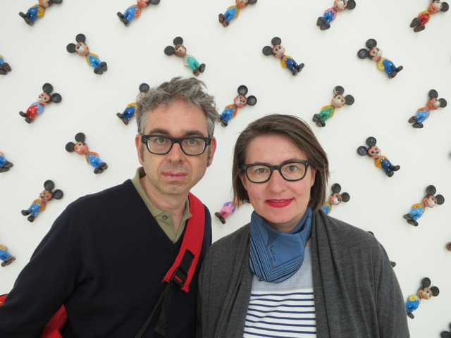 Critics Nicole Buesing and Heiko Klaas in Venice 2013