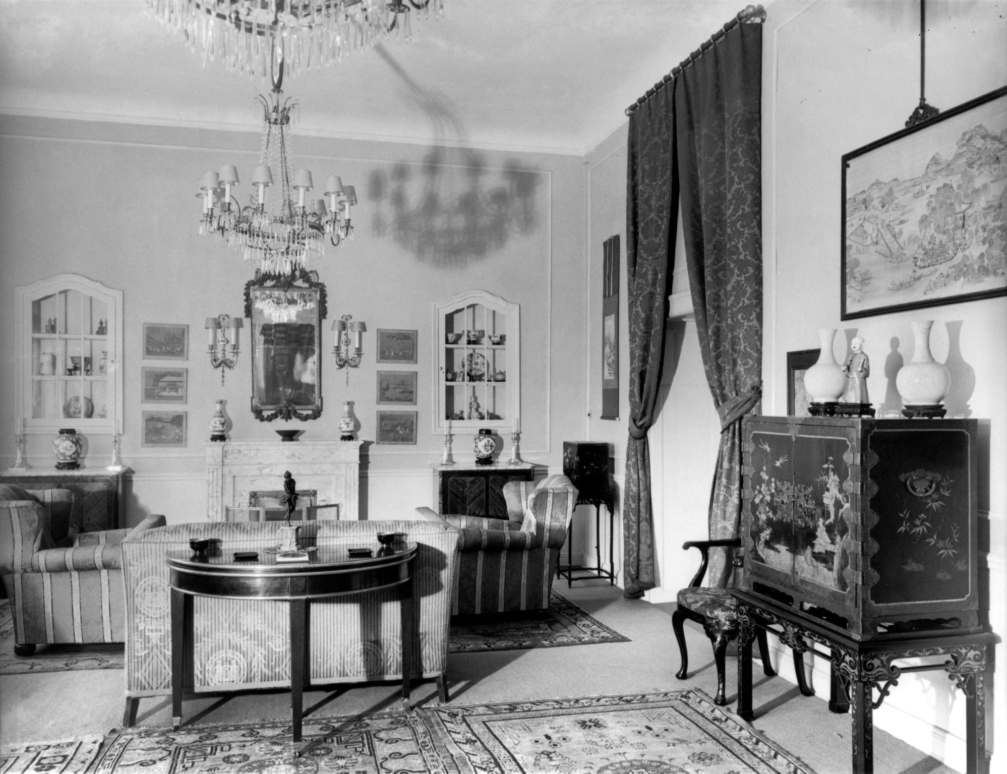 Raubkunst: Wohnung Lissa in den 1920er Jahren in Berlin, Landesarchiv Berlin, F Rep 290-05-01-211, Foto: Martha Huth