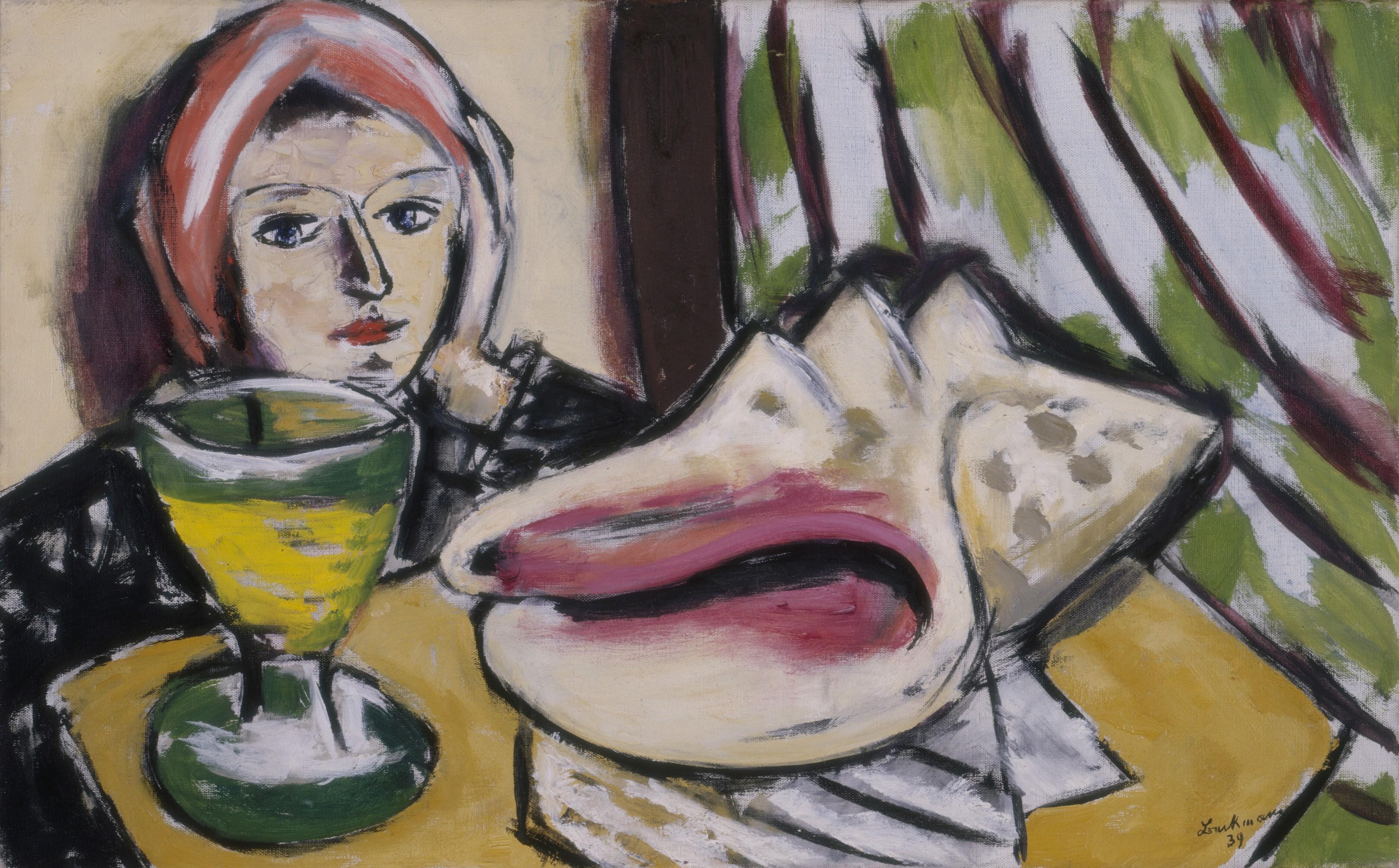 Max Beckmann (1884-1950),  Stillleben mit großer Muschel, 1939  Öl auf Leinwand, 50 x 81 cm  The Baltimore Museum of Art, Gift of William Dickey, Jr.,  BMA 1955.77  © VG Bild-Kunst, Bonn 2014