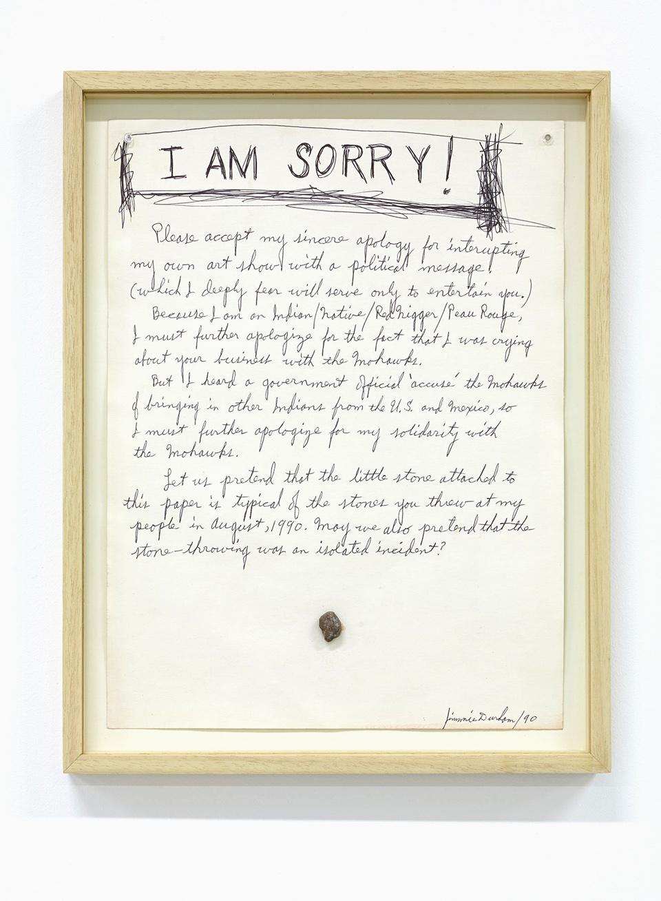 Jimmie Durham, Untitled, 1990