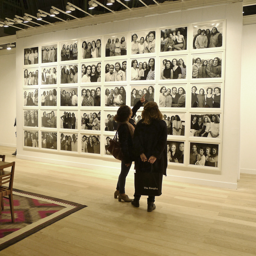"Paris Photo, Nicholas Nixon: ""The Brown Sisters"", Fraenkel Gallery, San Francisco, Foto: Heiko Klaas"