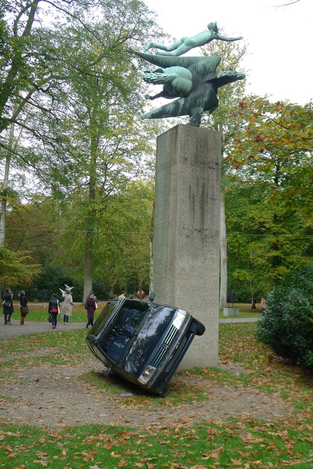 "Flandern-Tour: Middelheim Museum: Erwin Wurm: ""Disziplin der Subjektivität"", 2006-2011,  Foto: Heiko Klaas"