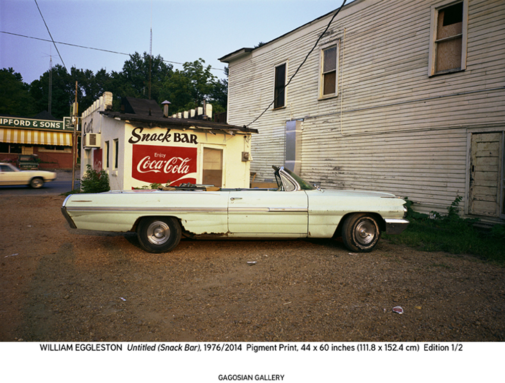 Paris Photo: William Eggleston Untitled (Snack Bar), 1976/2014 Pigment print © Eggleston Artistic Trust Exhibitor : GAGOSIAN