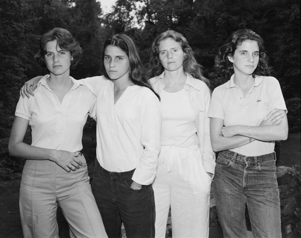 Paris Photo: Nicholas Nixon The Brown Sisters, New Canaan, Connecticut, 1975 gelatin-silver print © Nicholas Nixon, courtesy Fraenkel Gallery, San Francisco Exhibitor: Fraenkel Gallery