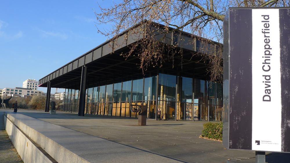 Neue Nationalgalerie, Außenansicht, Foto: Klaas