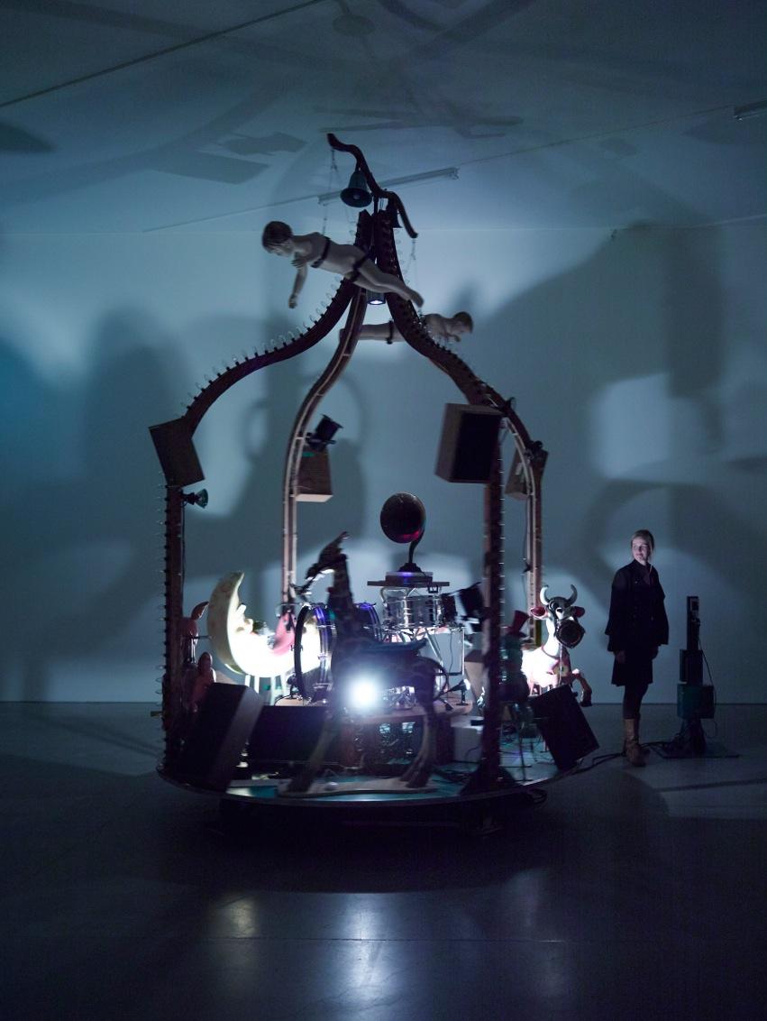 """Janet Cardiff & George Bures Miller: """"The Carnie"""", 2010 , Foto: Klaas"""