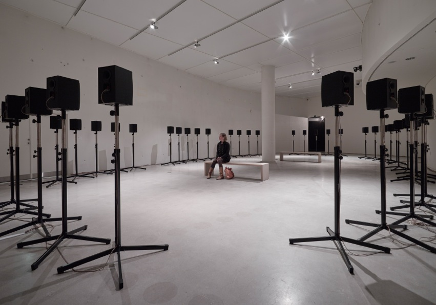 "Janet Cardiff: ""The Forty Part Motet"", 2001, Foto: Anders Sune Berg"