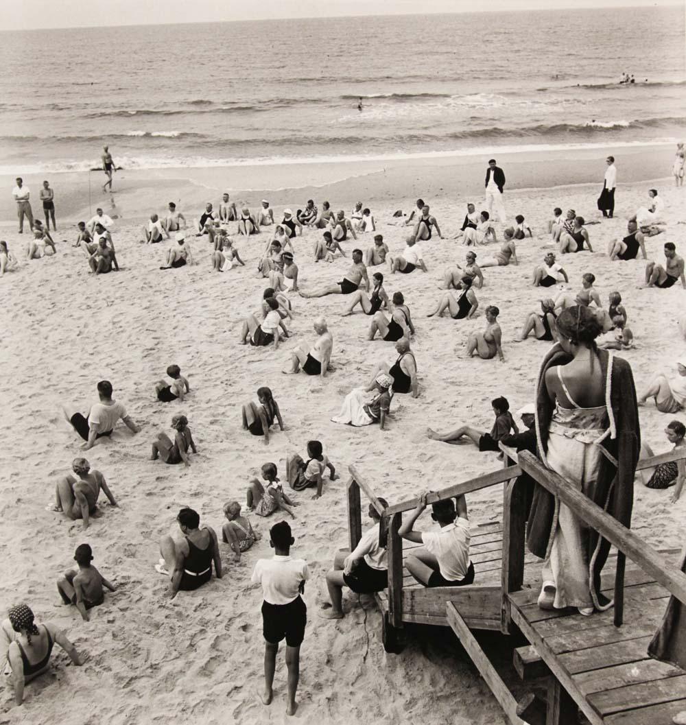 """Blecke Bleicken: """"Aufgepasst Westerland"""" 1935, Foto: Museum Kunst der Westküste"""