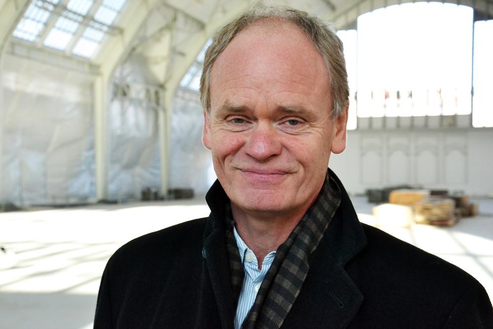Architekt Gregor Sunder-Plassmann, Foto: Matthias Schönebäumer/Deichtorhallen