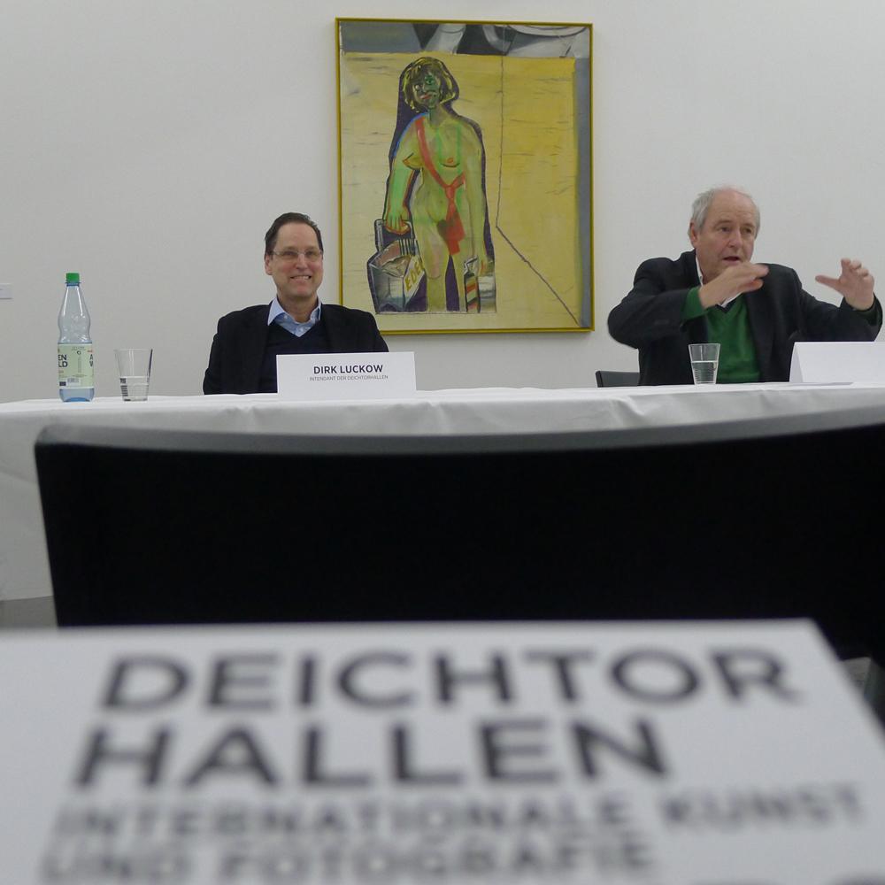 Selbstjustiz durch Fehleinkäufe: Dirk Luckow (links) und Harald Falckenberg (rechts), Foto: Klaas
