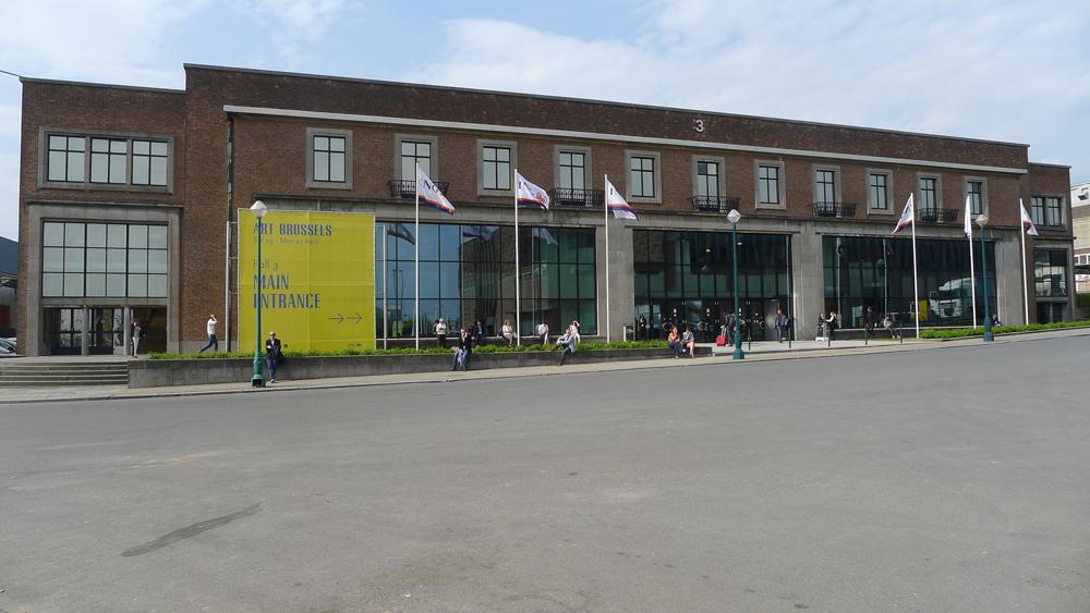 Art Brussels, Außenansicht, Foto: Klaas