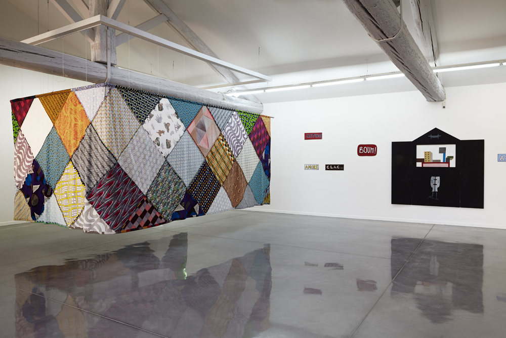 """Pierre Leguillon: """"Le musée des erreurs : Barnum"""", Pierre Leguillon, 2015, vue de salle. Musée régional d'art contemporain, Sérignan. Photo: Jean-Christophe Lett."""