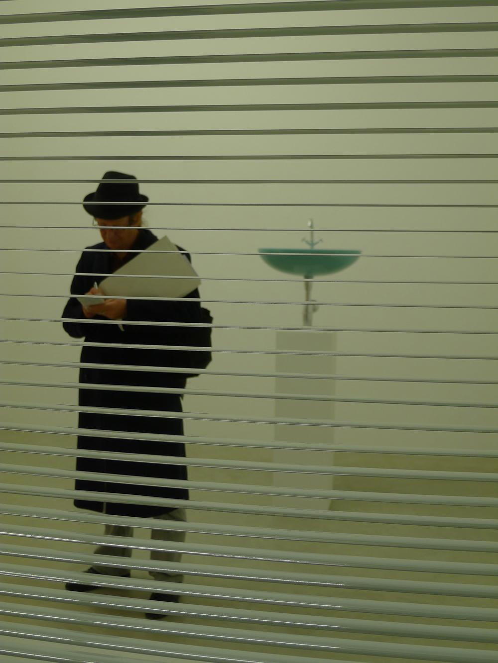 Gallery Weekend: Arbeit von Sirous Namazi in der Galerie Nordenhake, Foto: Klaas
