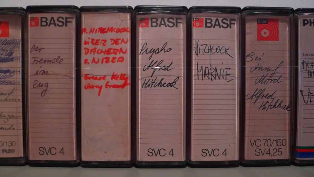 Fassbinders Videokassetten, Foto: Klaas