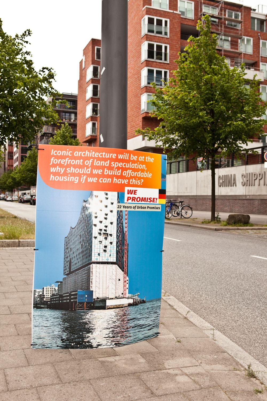 Martha Rosler und Miguel Robles-Durán: 22 Years of Broken Promises, © Stadtkuratorin Hamburg und die Künstler, Fotos: Frank Egel