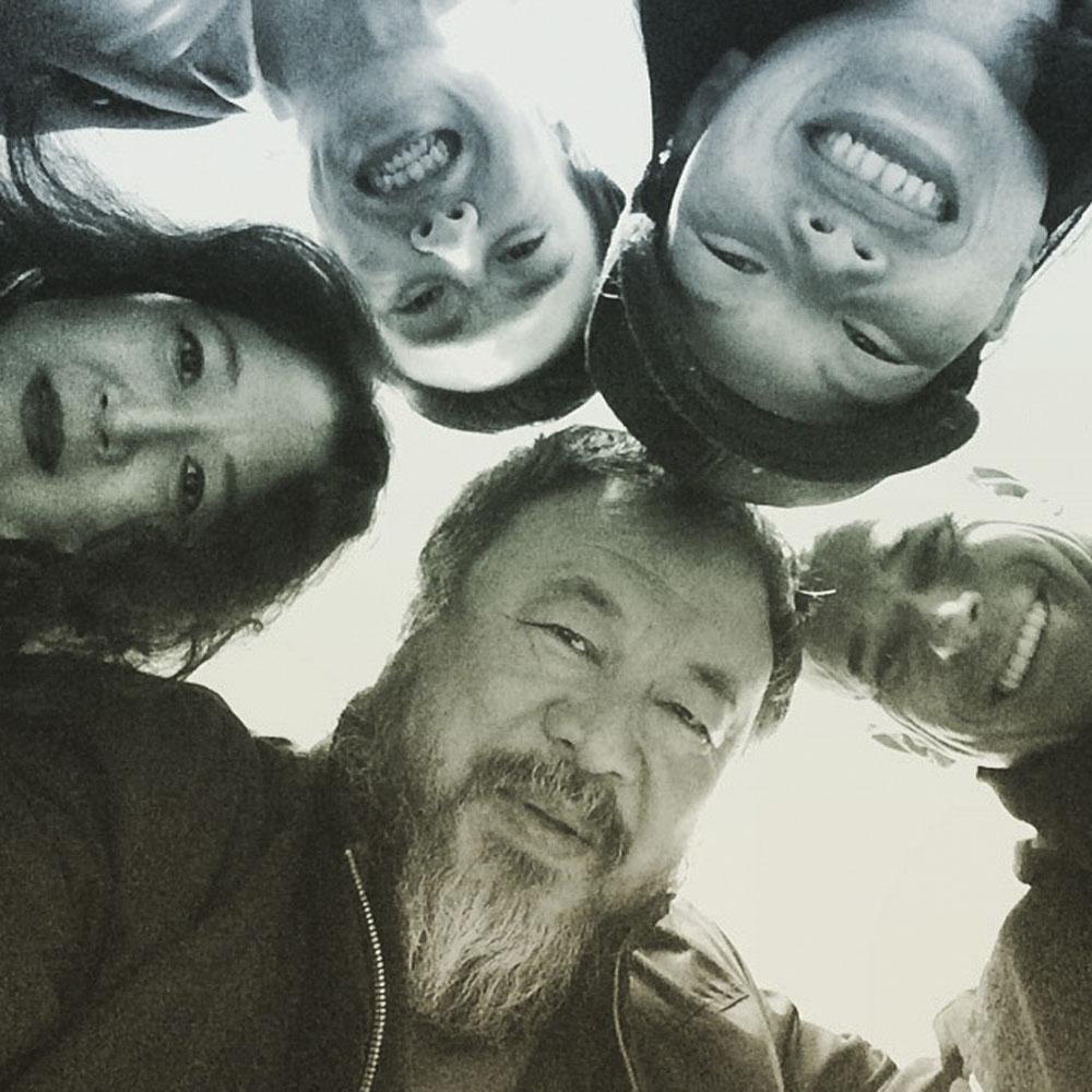 Phototriennale: Ai Weiwei, 11. Juni, 2014, auf Instagram gepostetes Foto, Courtesy Ai Weiwei Studio, © Ai Weiwei