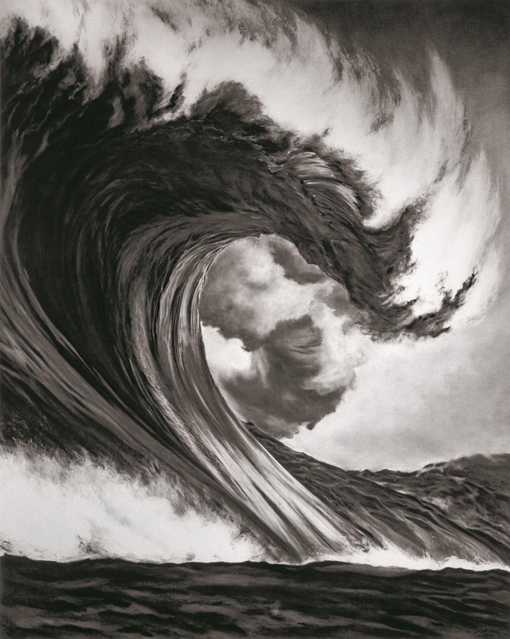 """Phototriennale: Robert Longo (geb. 1953): Ohne Titel (Drachenkopf), 2005, aus der Serie """"Monster"""", DZ BANK Kunstsammlung, © VG Bild-Kunst, Bonn 2015"""