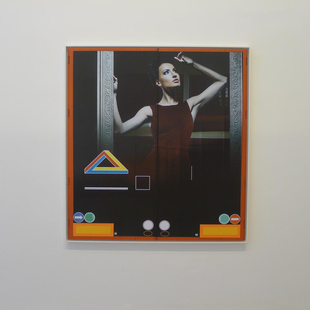 """Art Weekend Berlin: Galerie Capitain Petzel: Peter Piller: aus der Serie """"Erscheinungen"""", Foto: Heiko Klaas"""