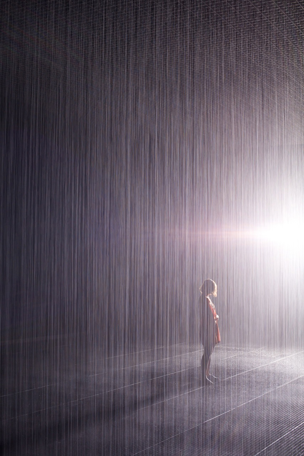 Rain Room at MoMA New York 2013. Foto: Random International