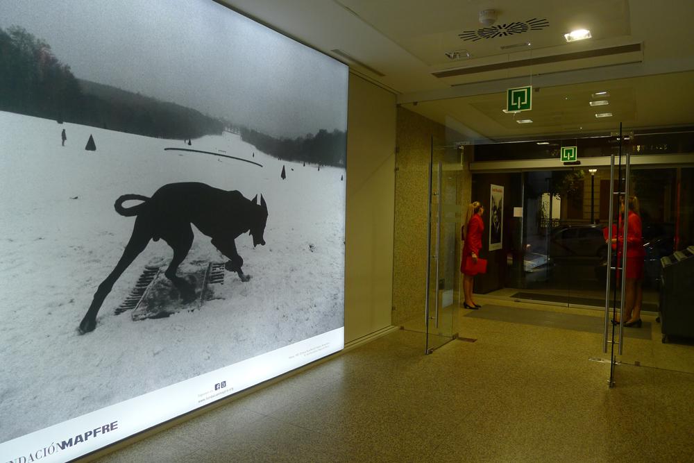 Josef Koudelka: Am Eröffnungsabend in der Fundación Mapfre in Madrid, Foto: Heiko Klaas