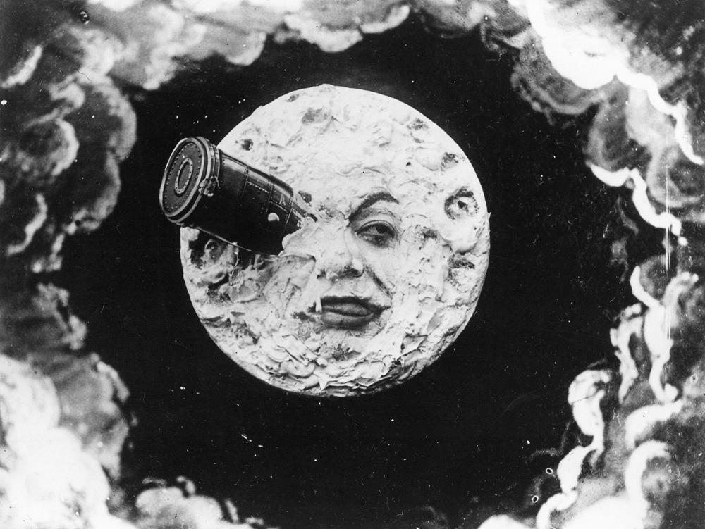 George Méliès (1861-1938) (Regie), Le Voyage dans la Lune (Die Reise zum Mond), Frankreich 1902, 16 Min., © BFI National Archive