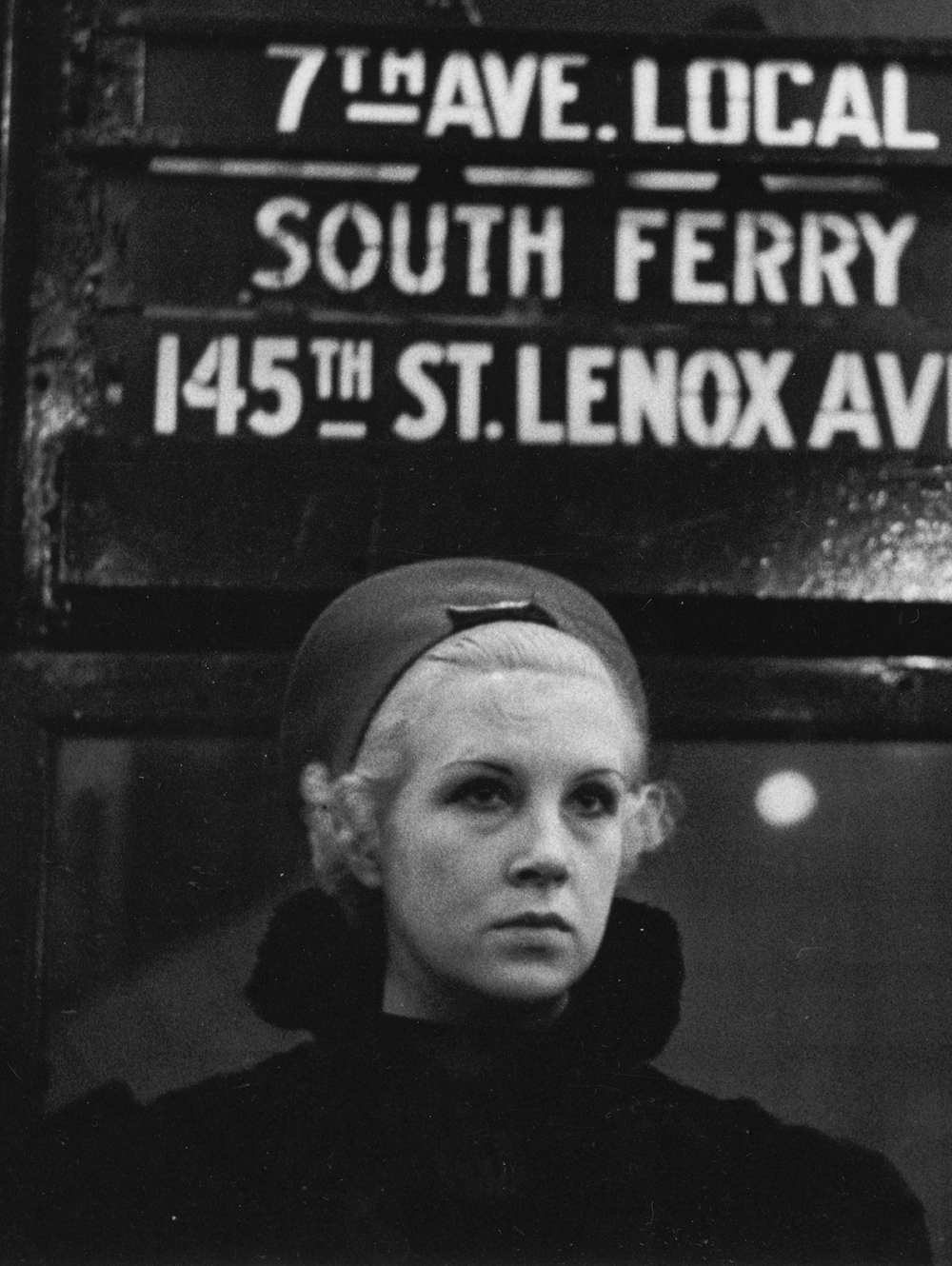 Walker Evans, Subway Portrait, New York, 1938-41  © Walker Evans Archive, The Metropolitan Museum of Art