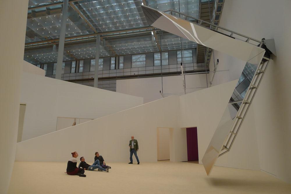 """Jeppe Hein: """"360° Illusion III"""", 2007, Foto: Klaas"""