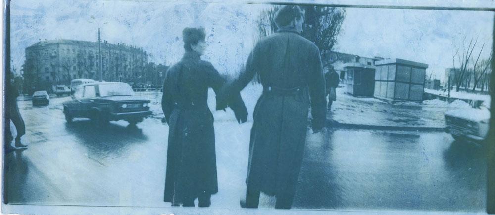 "Boris Mikhailov: aus der Reihe ""At Dusk"" (Dämmerung), 1993 © Boris Mikhailov, VG Bild-Kunst, Bonn 2015; courtesy Galerie Barbara Weiss, Berlin"