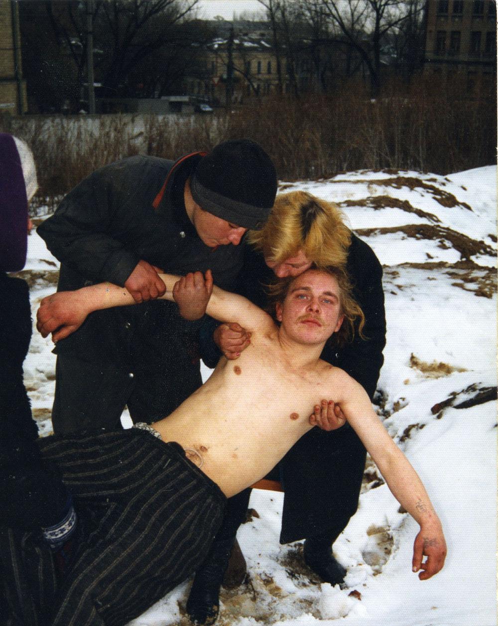 "Boris Mikhailov: aus der Reihe ""Case History"" (Krankengeschichte), 1997/1998, Farbfotografien © Boris Mikhailov, VG Bild-Kunst, Bonn 2015; courtesy Galerie Barbara Weiss, Berlin"
