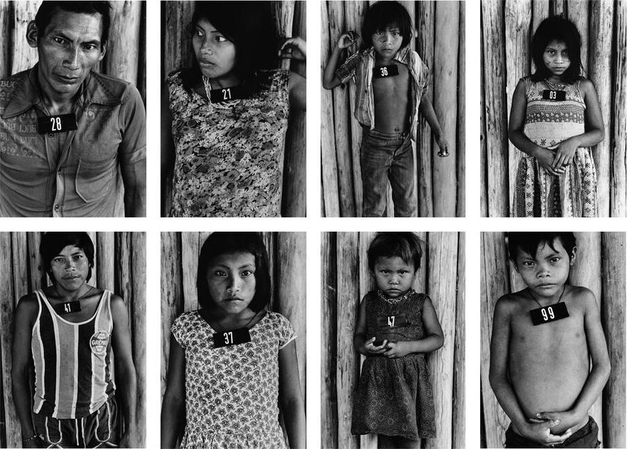 """Claudia Andujar, 1981-83, aus der Serie """"Marcados"""". © Claudia Andujar."""