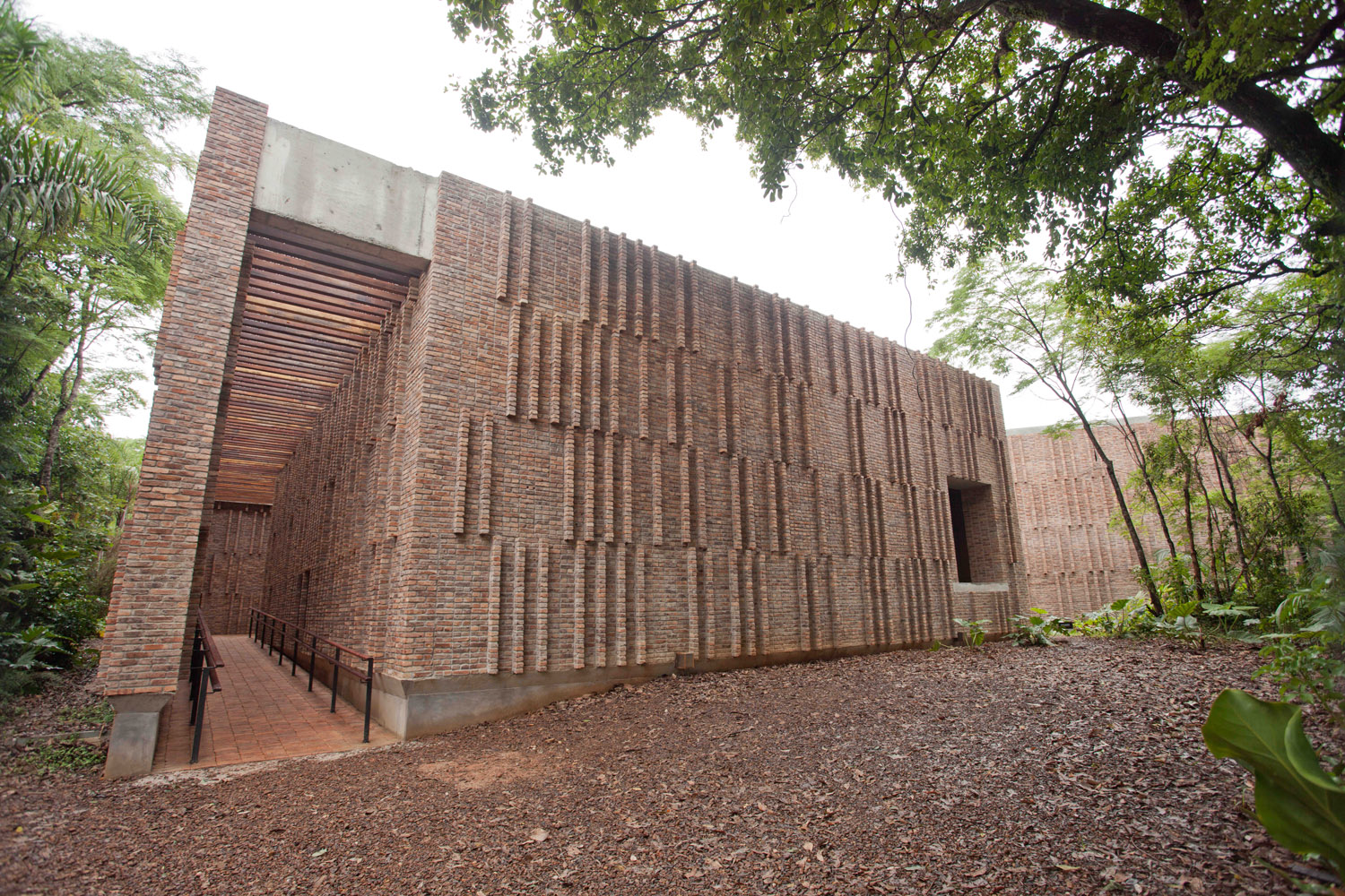 Galeria Claudia Andujar in Inhotim, Architektur: Arquitetos Associados, © William Gomes