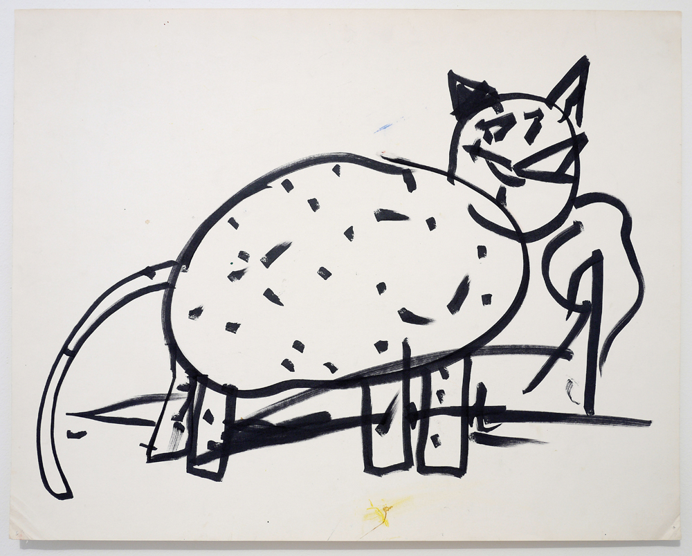 Matt Mullican Drawing Under Hypnosis (Child), 1978 marker on paper 55.9 x 71.1 cm (22 x 28 in.) Courtesy of the artist, Mai 36 Gallery, Zurich and Galerie Micheline Szwajcer, Brussels