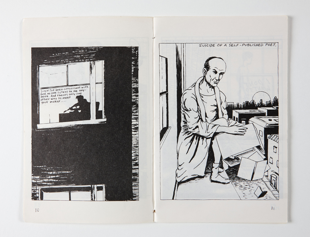 Raymond Pettibon Untitled fanzine, Xerox on paper 21 x 14 cm © Raymond Pettibon Private Collection Photo credit: Dirk Pauwels