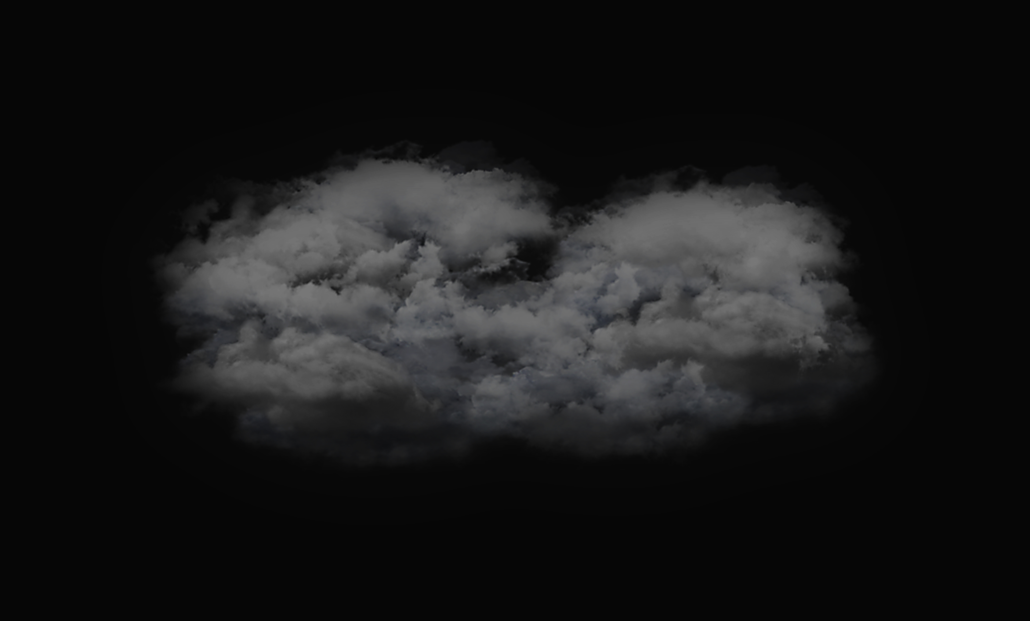 Ill.3: Alfredo Jaar, The Cloud, 2015, Approx. 600 x 600 x 100 cm, plaster, bandages, ballons, polyester fibre. © Alfredo Jaar