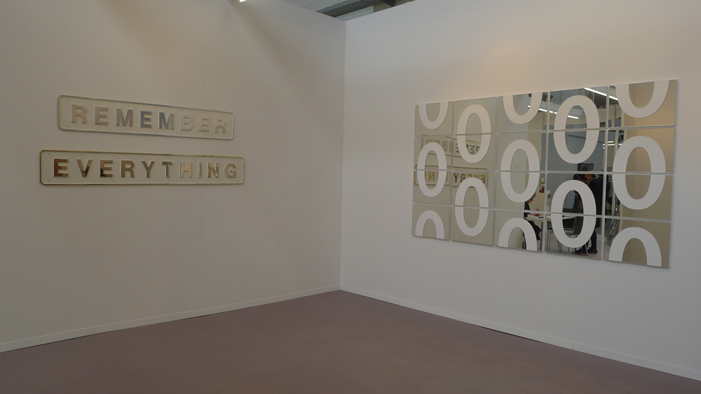 Art Brussels: Darren Almond bei New Art Center, Salisbury, Foto: Heiko Klaas