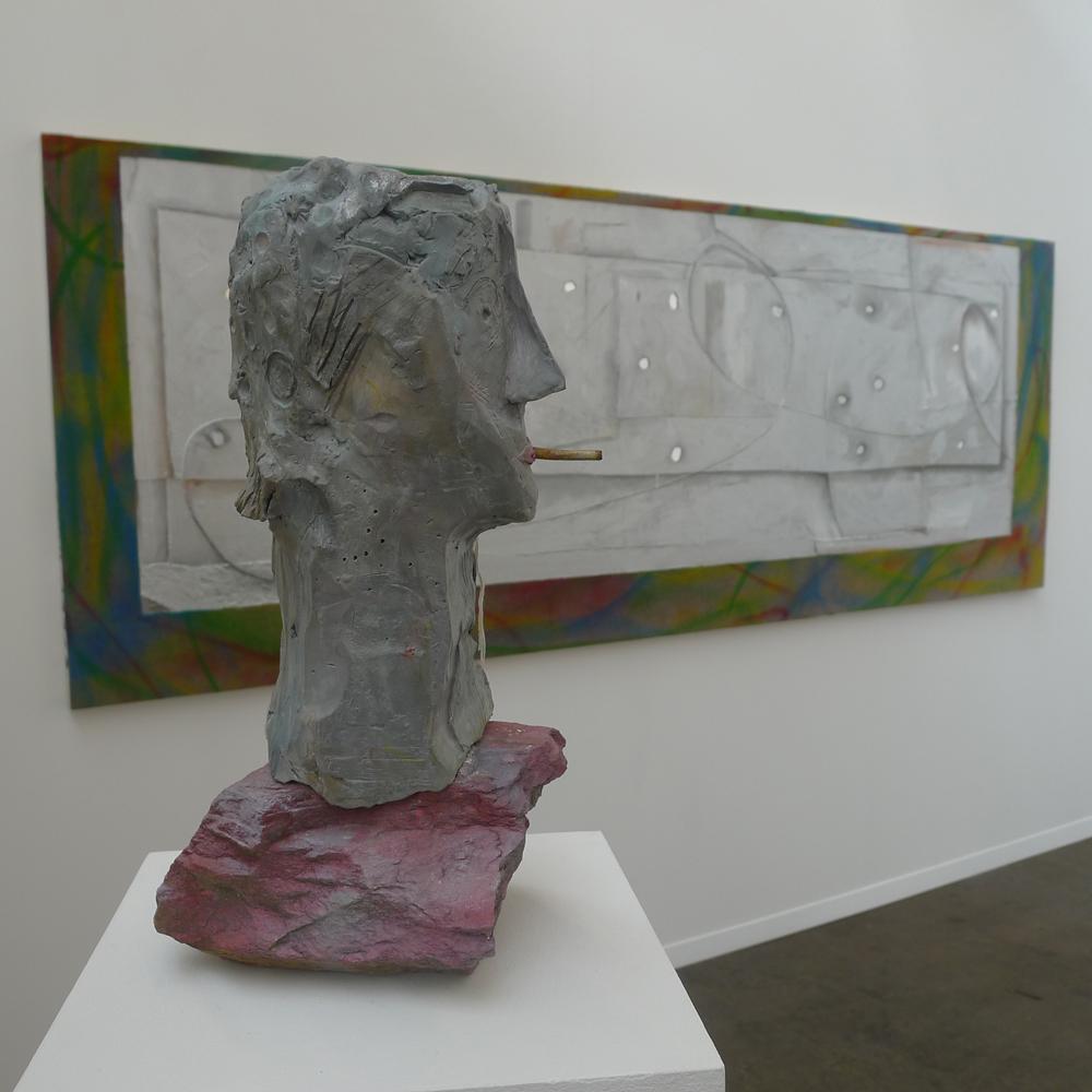 Art Brussels: Volker Hüller bei Timothy Taylor, London, Foto: Heiko Klaas