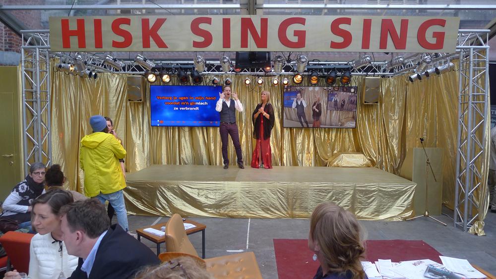 Art Brussels: Sing Sing Bar, Foto: Heiko Klaas
