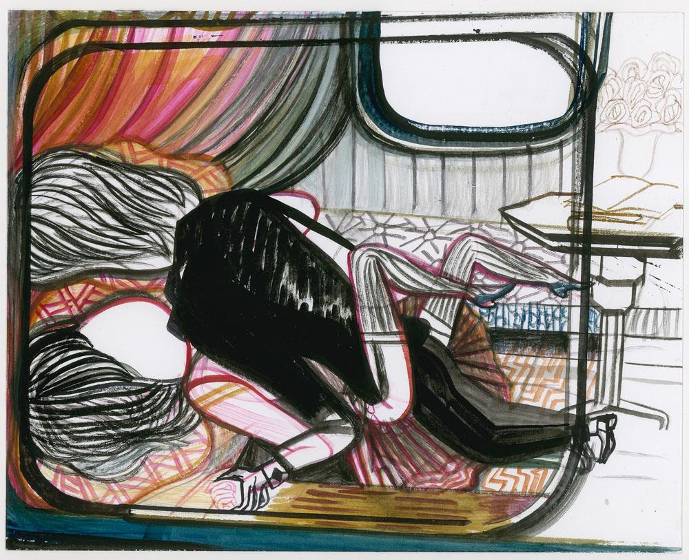 Emma Talbot, Courtesy  Künstlerin und Petra Rinck Galerie, Domobaal, London
