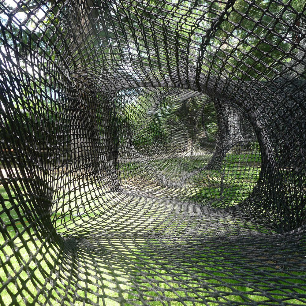 "Meraner Frühling: Art & Nature, Walking with Senses: Numen/For Use: ""Tube Meran"", 2016, Foto: Heiko Klaas"