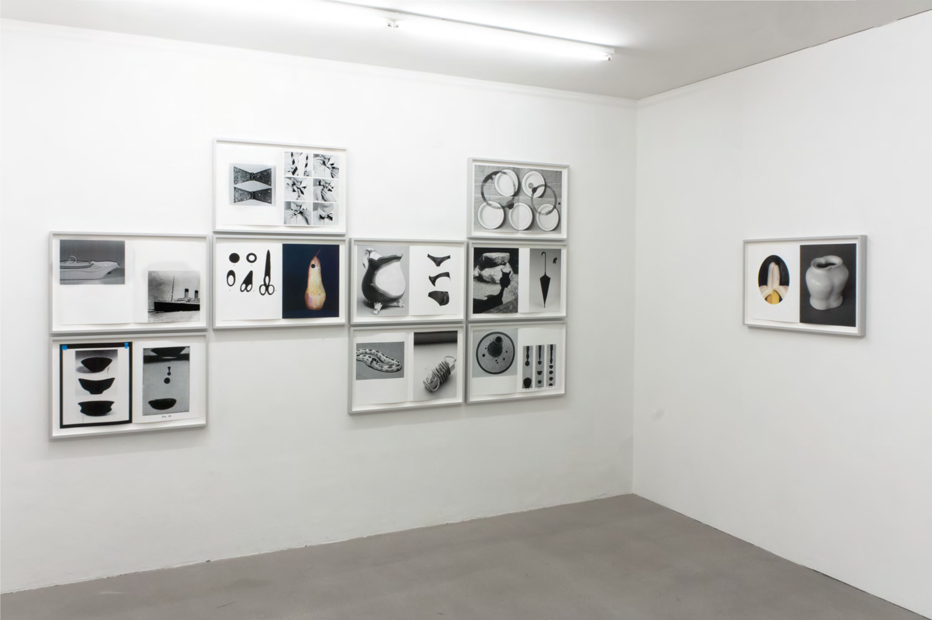 installation view Kathrin Sonntag, Kadel Willborn, Düsseldorf, Germany, 2016.