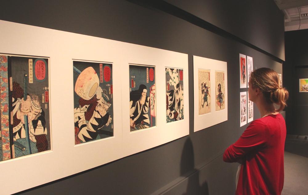 MKG_Hokusai_x_Manga_Ausstellungsansicht_1