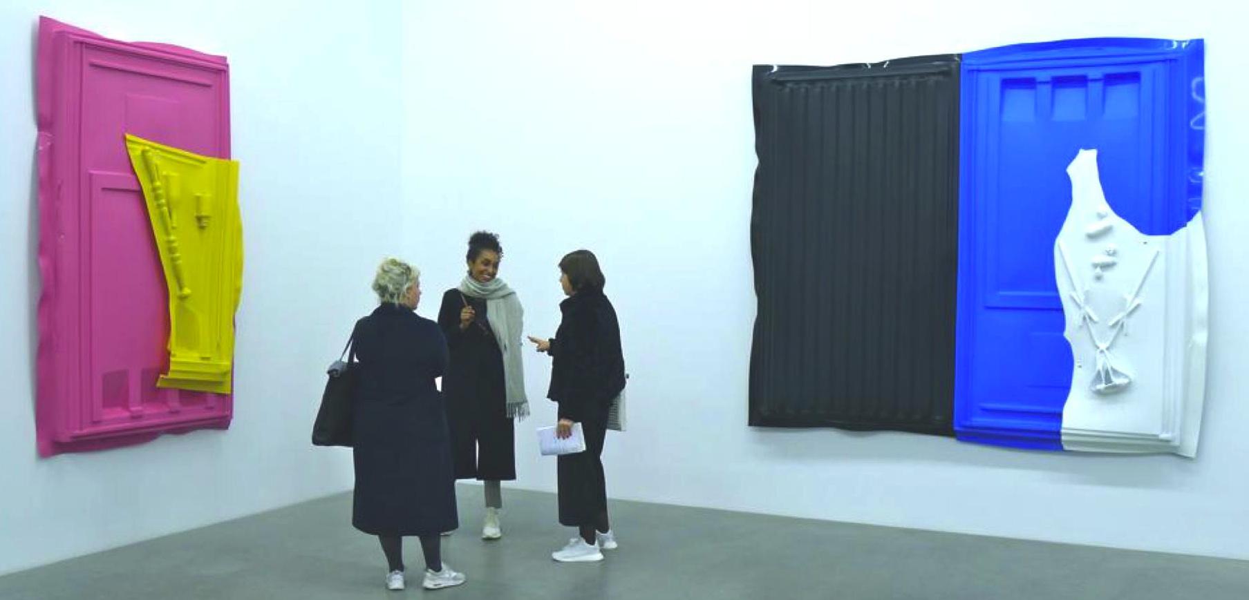 Im Zickzackkurs durch die Berliner Galerien