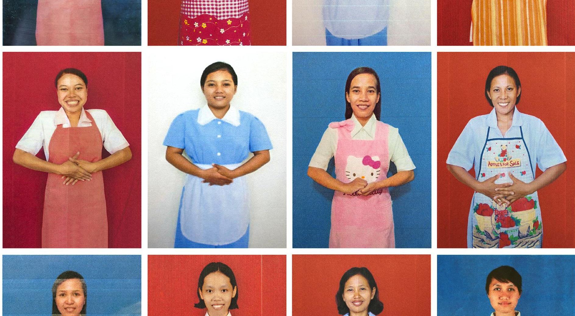 Duckface-Selfies und indonesische Hausmädchen