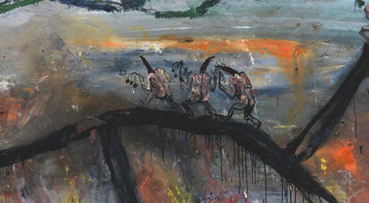 Malerei am Abgrund
